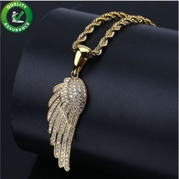 designer mens chains 2019 - Iced Out Designer Necklace Luxury Hip Hop Jewelry Mens Gold Chain Pendants Micro Paved CZ Diamond Bling Gold Rapper Cuba