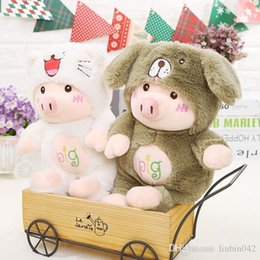 $enCountryForm.capitalKeyWord Australia - 20170723 2019 New Year Hot Sale Lovely Pig Plush Toys Doll For Girls Gifts Of Free Shipping