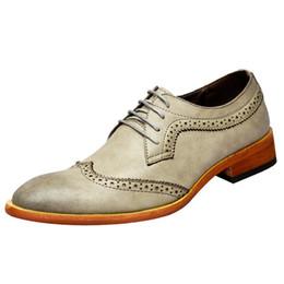 $enCountryForm.capitalKeyWord Australia - Men Brogue Fashion Oxford Dress Shoes Male Well-dressed Gentleman Handcrafted Footwear for Modern Men Leather Shoes