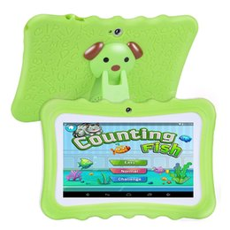 Best Android Inch Tablet Australia - Upgrade Best Tablet for Kids, 7inch HD Display with Kid-proof Silicone Case (Quad Core, 8GB, Wifi & bluetooth, Front & Rear Ca
