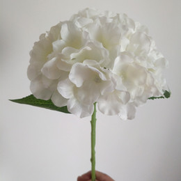 $enCountryForm.capitalKeyWord NZ - 20cm Dia Hydrangea Bouquet Artificial Flowers for Wedding Valentine Home Living Room Table Decoration Wedding Bridal DIY Supply