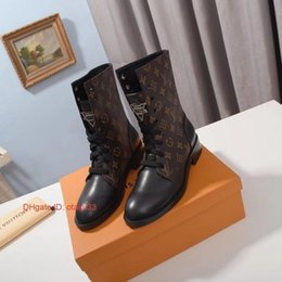 Korean shoes woman style online shopping - Ankle Women leather Boots Pointed Toe Footwear Flock Booties New Spool Ladies low heels shoe street style korean style