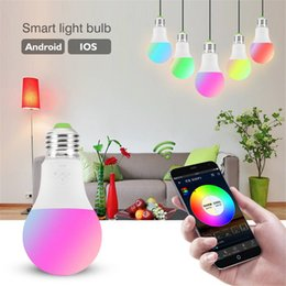 $enCountryForm.capitalKeyWord Australia - Smart WiFi Light Bulb 4.5W 6.5W RGB Magic Light Bulb Lamp Wake Up Lights Compatible with Alexa and Google Assistant Dropship