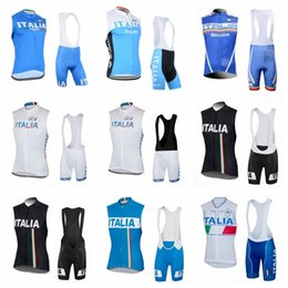 new jersey italy 2019 - 2019 New ITALY Cycling Sleeveless jersey Vest bib shorts sets team sport bike maillot Bicycle MTB clothing Breathable Qu