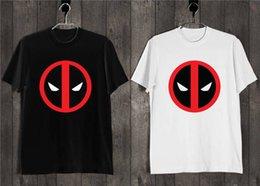 Face T Shirt Designs Australia - T Shirt Design Men Deadpool Ink Graffiti Face New Style Short Sleeve Tee Shirt