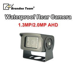 Trailer camera online shopping - 1 MP MP AHD Truck Backup Camera LED IR Night Vision Waterproof Vehicle Rear View Camera For Truck Trailer car