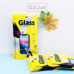 Wholesale Boxes Packaging Australia - Tempered glass screen protector Retail package box fashion universal for cell phone iphone XS MAX XR X 7 8PLUS samsung paper box packaging