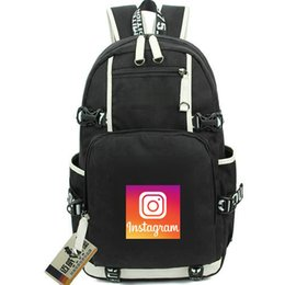 Internet Packs Australia - Instagram day pack Picture wall daypack Internet logo schoolbag Company packsack Computer rucksack Sport school bag Out door backpack
