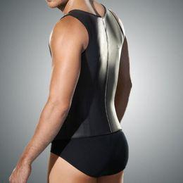 2005a67916e Plus Size Faja Latex Waist Trainer For Men Body Girdles Men Steel Boned  Mens Waist Shaper Corset Under Wear Vest