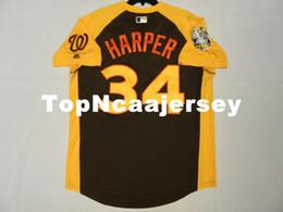 302a795f MAJESTIC Cheap #34 BRYCE HARPER COOL BASE, ALL STAR Jersey Mens Stitched  Wholesale Big And Tall SIZE XS-6XL baseball jerseys