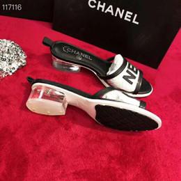 ebb2ab869 Brand Leather Slipper Slides For Woman Lady Ms Designer Tory Miller Sandal  Flat Shoes Jelly Mini Miller Thong Sandals Flip Flop Loafer