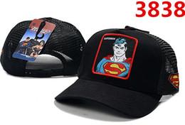 Discount batman ball cap - HOT Sale Brand New DC Comics Snapback Cap BATMAN Adjustable superman Hats Men Woman Baseball hats Fashion hip hop Hats m