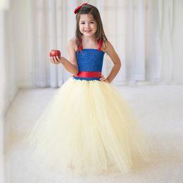 $enCountryForm.capitalKeyWord Australia - Girls Blue Dresses Toddler Movie Princess Prom Dress Ball Gown Frock Summer Wedding Flower Girl Halloween Party