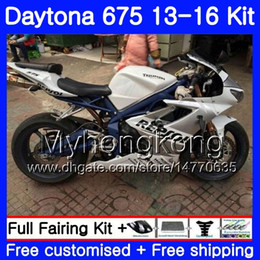 black repsol fairings Australia - Bodys For Triumph Daytona 675 2013 2014 20 15 2016 Bodywork 328HM.31 Daytona675 Daytona-675 Repsol white hot Daytona 675 13 14 15 16 Fairing