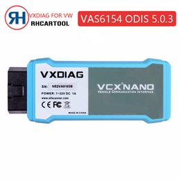 Wireless Connectors Australia - 2019 Vxdiag VAS6154 WIFI Wireless ODIS 5.0.3 for VAG Code Reader Diagnostic Tool VAS 6145 best than VAS 5054A VAS5055