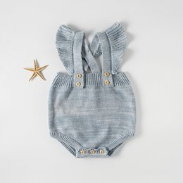 0c01cef3035c Baby Rompers Spring Autumn Clothing for Girls Sweater Cotton Infant Girls Clothes  Newborn Overalls Baby Jumpsuit Knit Clothing