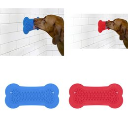 $enCountryForm.capitalKeyWord Australia - Doggy Toy Stick Novel Cat Dog Bath Stickers Dogs Portable Popular Supplies Hot Selling With Blue Red Color 7bs J1