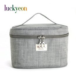 6c4c78d8c6 Brand Make Up Bags Women Brush Necessaries Cosmetic Bag Travel Toiletry  Storage Box Makeup Bag Wash Organizer Cases  258197 korean makeup brands on  sale