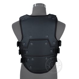 triple gear Australia - Cosplay TF3 Vest Body Armor transformer3 airsoft paintball molle combat gear Black