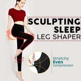 $enCountryForm.capitalKeyWord NZ - SCULPTING SLEEP LEG SHAPER Pants Legging Socks Women Body Shaper Panties Slimming Leg Sexy Hip Up Control makeup tools