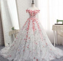 Wholesale coloured wedding dresses resale online - New Designs Red and white Fashion Top Wedding Dress in Dubai Bohemian Cheap Modern Pretty Colour Wedding Dress