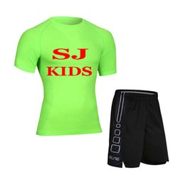 $enCountryForm.capitalKeyWord UK - SJ Kids(Men)1-300 Men Kids Compress Fitness Sets Tee Top + Shorts Workout Exercise Sport Shirts Running Tights
