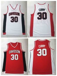 Red Basketball Jerseys Australia - NCAA Donovan #30 CURRY RUSSELL Wildcats College Basketball Jersey White Red 100% Stitched College Basketball Jerseys S-3XL Fast Shipping