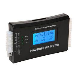 $enCountryForm.capitalKeyWord Australia - Digital LCD Display PC Computer 20 24 Pin Power Supply Tester Checker Power Measuring Diagnostic Tester Tools #LO