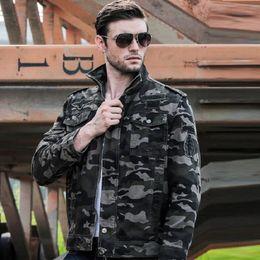$enCountryForm.capitalKeyWord Australia - Jacket Men 2019 Autumn Camouflage Outerwear Tactical Coats Men's Stand Collar Bomber Jackets Plus Size 4XL Fashion Camo Military Clothes
