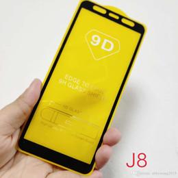 $enCountryForm.capitalKeyWord Australia - For iPhone XS Max XR X 7 8 Plus Samsung J2 Core J4 J6 J7 Star J8 2018 9D Premium Cheap Tempered Glass Film Screen Protector Full Edge Curved