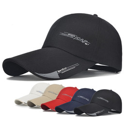 Funky Fashion online shopping - Outdoor Adjustable Sport Baseball Cap Fashion Snapback Plain Sun Hat Funky Sport Hip hop Hat Travel Running Cap LJJT663