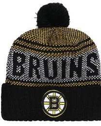 Wholesale BOSTON BRUINS Ice Hockey Knit Beanies Embroidery Adjustable Hat Embroidered Snapback Caps Black Gray White Stitched Hats One Size