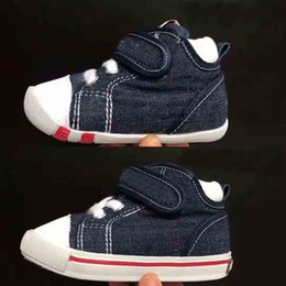 $enCountryForm.capitalKeyWord Australia - 0-18 Months Newborn Infant Toddler Baby Boy Girl Soft Sole Crib Shoes Sneaker Baby First Walkers canvas shoes