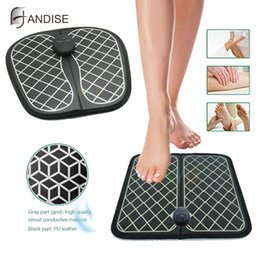 battery massages NZ - Intelligent foot massage machine Physiotherapy massage electric foot reflexology pad foot reflex pulse massage pad