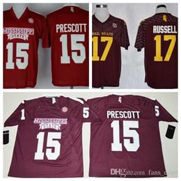 8f4df4c0e Pittsburgh Steelers Jerseys Australia - Ncaa Mens Bulldogs Jerseys  Wholesale Cheap 15 Dak Prescott College Football