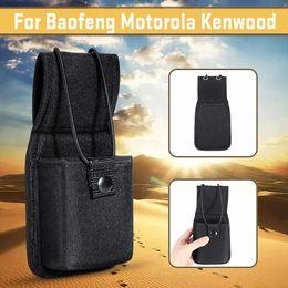 Case For Walkie Australia - Universal Black Nylon Walkie Talkie Case Bag Radio Holster Two Way Radios For Baofeng Motorola Kenwood