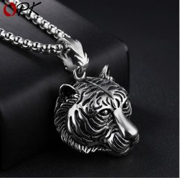 Necklaces Pendants Australia - Fashion Vintage Necklace Domineering Pendant Titanium Steel Influx Personality Pendant
