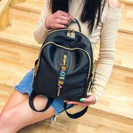 $enCountryForm.capitalKeyWord NZ - 2019 school bag new ins female fashion shoulders tide Korean version of the wild backpack Oxford cloth shoulder Messenger bag