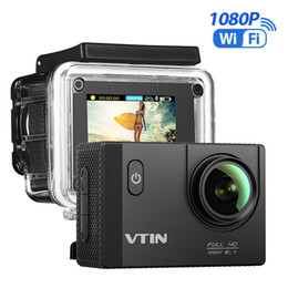 Wifi images online shopping - Stock In Germany Vtin Action Camera WiFi inch Full HD P Sport Cam Waterproof Wide Angle with Connectors Accessories Kits