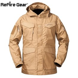 Hiking Clothings M65 Uk Us Army Clothes Military Tactical Windbreaker Men Winter Autumn Waterproof Flight Pilot Coat Hoodie Military Field Jacket Bright In Colour Camping & Hiking