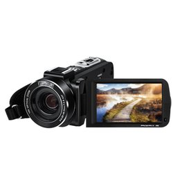 Electronic Professionals NZ - Ordro AC7 4K Camcorder 3.1 IPS Ultra HD WiFi Video Camera DV Microphone Stereo Camcorder Professional Mic Recorder