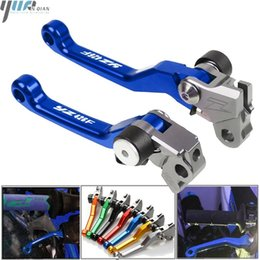 Wholesale pivot bikes online – design For YZ426F YZ426 F YZ F Motocross CNC Pit Dirt Bike Pivot Handle Lever Brake Clutch Levers