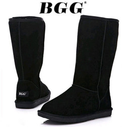 Womens Classic Tall Boots Australia - Free shipping 2019 High Quality BGG Women's Classic tall Womens boots Boot Snow boots Winter leather boots