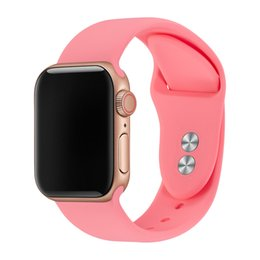 $enCountryForm.capitalKeyWord UK - Bracelet For Apple Watch Band 38mm 40mm 42mm 44mm Double Buckle Silicone Rubber IWatch Strap For Apple Watch Strap Series 4,3,2,1 81024