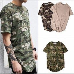 Tyga cloThing online shopping - 2019 New Autumn style brand fashion clothing mens swag street top tees tyga camo camouflage t shirt hip hop crewneck