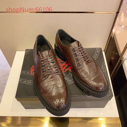 $enCountryForm.capitalKeyWord Canada - New fashionable business leather shoes in autumn and winter, men's leather shoes with English leather carved lace, size 38-44