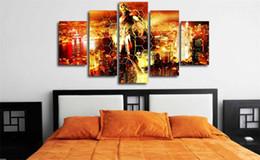 $enCountryForm.capitalKeyWord Australia - Iron Man,5 Pieces Home Decor HD Printed Modern Art Painting on Canvas (Unframed Framed)