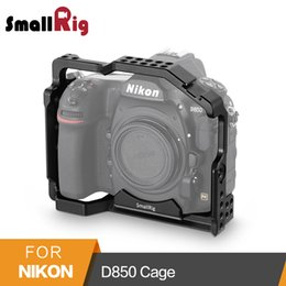 qr plate UK - wholesale for Nikon D850 Form-fitting Cage With Built-in Arca Swiss QR Plate And NATO Rail - 2129