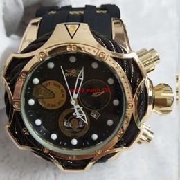 $enCountryForm.capitalKeyWord Australia - 2019 3A INVICTA luxury gold watches dial men's sport quartz timepiece automatic date rubber men's gift wrist watches