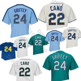 cd6c8095b 24 Ken Seattle jersey 22 Robinson Cano Mariners jerseys add 2019 men 150th  anniversary baseball jerseys